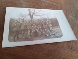 DEUTSCHE MAENNER DAZUMAL - ERINNERUNG AN FRONTKRIEG BEI ST. SOUPLET - FRANKREICH - 1915 - Guerra, Militari