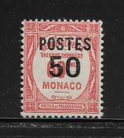 MONACO ( MC2 - 47 ) 1937  N° YVERT ET TELLIER  N° 147   N** - Monaco