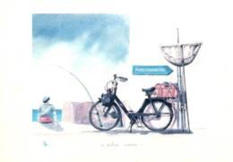 CPM - ILLUSTRATION MOREL J.R. - Le Pêcheur Motorisé - SOLEX - Edition X.De Bonnaventure - Cartes Postales