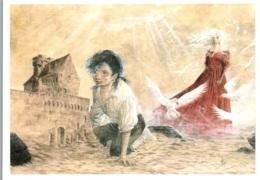 CPM - REFLET D'ECUME - Illustration Alberto VARANDA - Edition Quai Des Bulles - Bandes Dessinées