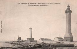 CPA - Pte De PENMARC'H ST PIERRE - LE PHARE D'ECKMÜHL - Edition Villard - Phares