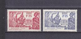 SOUDAN 103/104 LUXE NEUF SANS CHARNIERE - Soudan (1894-1902)