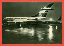 """""""Tu-134"""". GDR 1970. Postcard New. - 1946-....: Era Moderna"""