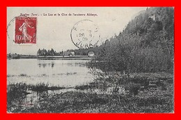 CPA (39)  BONLIEU.  Le Lac Et Le Clos De L'ancienne Abbaye...B327 - Autres Communes