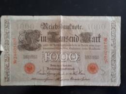 Billet Allemagne 1000 Marks Berlin 21/04/1910  & - [ 2] 1871-1918 : German Empire