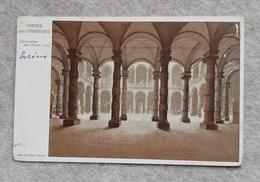 """Cartolina Postale """"Regia Università Degli Studi"""" Torino - Cortile Dell'Università, Per Brescia 1924 - Education, Schools And Universities"""