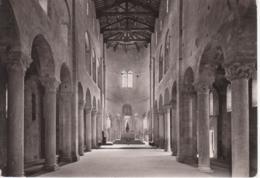 MONTALCINO - ABBAZIA DI SANT'ANTIMO - NAVATA CENTRALE - VIAGGIATA 1971 - Italie