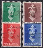 NORWEGEN NORWAY [1939] MiNr 0203-06 ( O/used ) - Norway