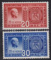 NORWEGEN NORWAY [1942] MiNr 0274-75 ( **/mnh ) Briefmarken - Noorwegen