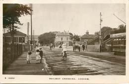 COSHAM - Railway Crossing. - Angleterre