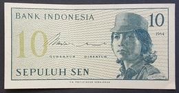 RS - Indonesia 10 Sen Banknote 1964 - Indonesien
