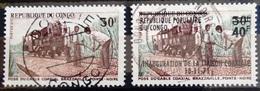 CONGO                    N° 262 + 310                  OBLITERE - Oblitérés