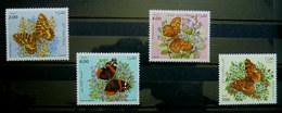 TIMBRES NEUFS PAPILLONS ALGERIE 1005 - 1008 TIMBRE Papillon - Schmetterlinge