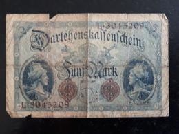 Billet Allemagne 5 Marks Berlin 1914 & - [ 2] 1871-1918 : Impero Tedesco