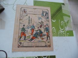 Protège Cahier Ancien La Vie Militaire Du Maréchal Mac Mahon Woerth Freschwiller  Guerre 1870 - Protège-cahiers
