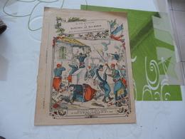 Protège Cahier Ancien La Vie Militaire Du Maréchal Mac Mahon Magenta 04/06/1859 - Protège-cahiers