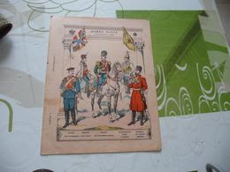 Protège Cahier Ancien Armée Russe Cavalerie De La Garde - Protège-cahiers