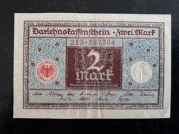 Billet Allemagne 2 Marks Berlin 1920  & - [ 3] 1918-1933 : Weimar Republic
