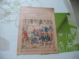 Protège Cahier Ancien La France Dans La Guinée Supérieure Assaut Et Prise De Thiassalé 02/06/1893 - Protège-cahiers