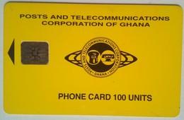 Ghana 100 Units Yellow - Ghana