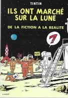 CARTE TINTIN ILS ONT MARCHE SUR LA LUNE (61) - Postcards