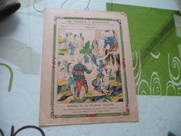 Protège Cahier Ancien Les Français à Madagascar Marche De La Colonne Volante - Book Covers