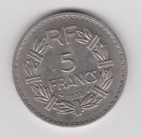5 FRANCS 1938 - France