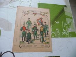 Protège Cahier Ancien Armée Russe Infanterie - Protège-cahiers