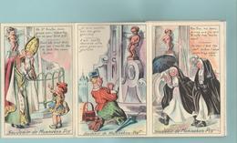 CPM:   HUMOUR Belge: Souvenir Du MANNEKEN-PIS:  (Série Complète De 1 à 10)  Belgique.  (1199) - Humor