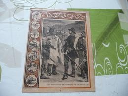 Protège Cahier Ancien Voyages Sur Terre Et Sur Mer; Une Expédition De Cavelier De La Salle - Protège-cahiers