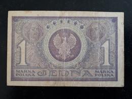 Billet Pologne 1 Jedna  1919  & - Pologne