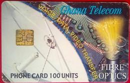 Ghana 100 Units Fiber Optics - Ghana