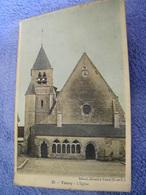 C.P.A.- Toury (28) - L'Eglise - 1915 - SUP - (CZ 84) - Autres Communes