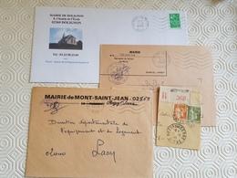 ROZOY SUR SERRE (Aisne) - COLLECTION D'OBLITERATIONS - 1961-....