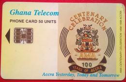 Ghana Centenary 50 Units - Ghana