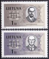LITAUEN 2002 Mi-Nr. 781/82 ** MNH - Lituanie