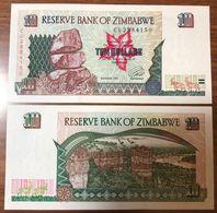 ZIMBAWE Zimbabwe 10 Dollars 1997 Unc Fds Lotto.543 - Zimbabwe