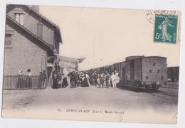 BERCK-PLAGE - Tout Le Monde Descend Train En Gare - Berck