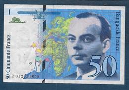 Billet De 50 Fr  St Exupéry  De 1993 - 50 F 1992-1999 ''St Exupéry''