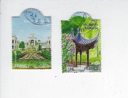 Jardins De France 4173-4174 Oblitérés 2008 - France