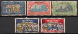 Kouang Tchéou - 1927 - N°Yv. 92 - 93 - 94 - 95 - 96 - 5 Valeurs - Neuf Luxe ** / MNH / Postfrisch - Kouang-Tchéou (1906-1945)