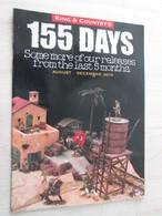 BACVERTCAGIBI / Figurines KING & COUNTRY / Brochure 155 DAYS 12 Pages MAGNIFIQUEMENT ILLUSTREES - Leger