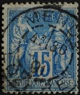 -Sage N°90  Type Ll.(CAD) O   MENDE 1891 - 1876-1898 Sage (Type II)