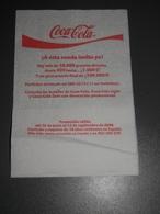 SERVIETTE   COCA-COLA   DE SPAIN - Servilletas Publicitarias