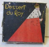 Boîte. 14. Boîte à Biscuits En Fer Blanc De Beukelaer. Dessert Du Roy - Boxes