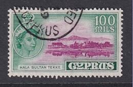 Cyprus: 1955/60   QE II - Pictorial   SG184   100m        Used - Cyprus (...-1960)