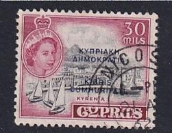 Cyprus: 1960/61   QE II - Pictorial 'Cyprus Republic' OVPT   SG195   30m       Used - Cyprus (...-1960)