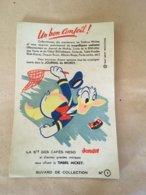 "1 Buvard Walt Disney "" Donald  "" Café NESO N°1 - Blotters"