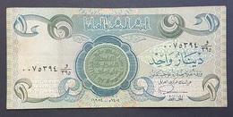 RS - Iraq 1 Dinar Banknote 1984 #0075394 - Iraq