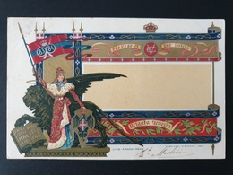 Cartolina Reggimentale - Viaggiata R07 - 1900-44 Vittorio Emanuele III